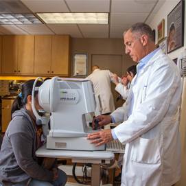 Astigmatism Eye Exam in the Valley