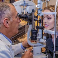 Eye Exam with Dr. Leonard