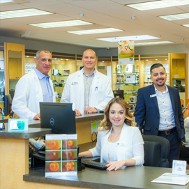 Team Photo of San Fernando Valley Optometrist Dr. Leonard and Associates